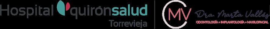 logo odontologia marta valles quiron